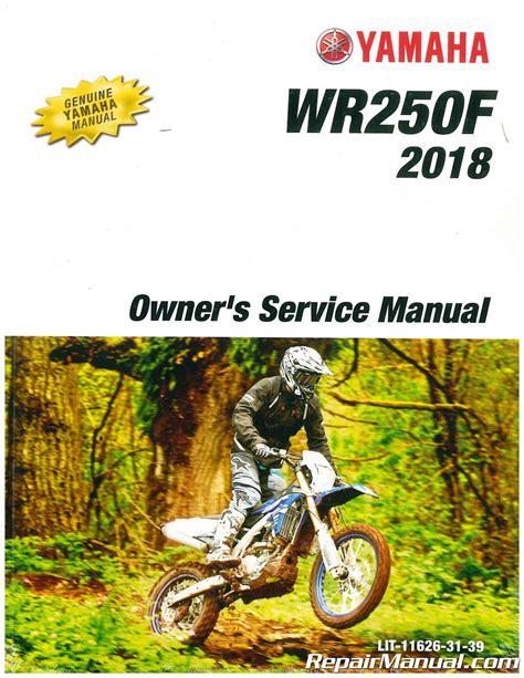 Yamaha Wr250f Owners Manual (ePUB/PDF) Free