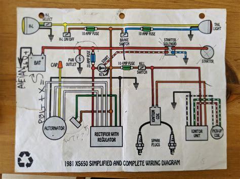yamaha xs 400 wiring diagram