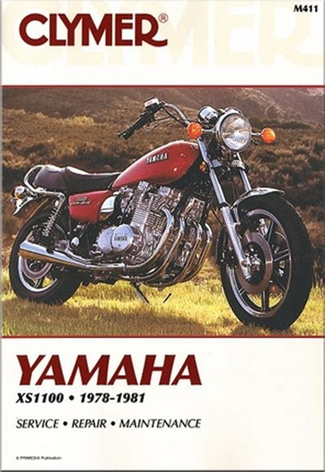 Yamaha Xs1100 Service Repair Manual 1978 1981 (ePUB/PDF) Free