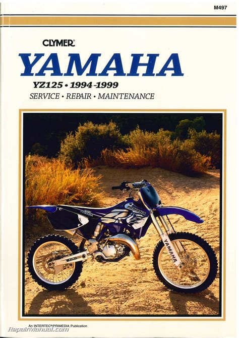 Yamaha Yz125 Service Manual Repair 1999 Yz 125 (ePUB/PDF)