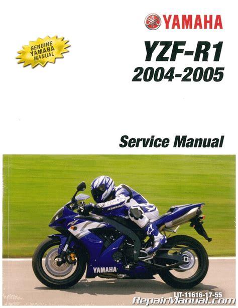 Yamaha Yzfr1 Factory Repair Manual 2004 2006 (ePUB/PDF) Free