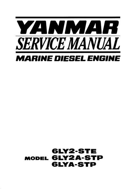 Yanmar 6lya Stp Manual (ePUB/PDF) Free