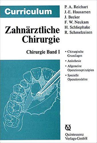 Zahnrztliche Chirurgie Curriculum 3 Bnde (ePUB/PDF) Free