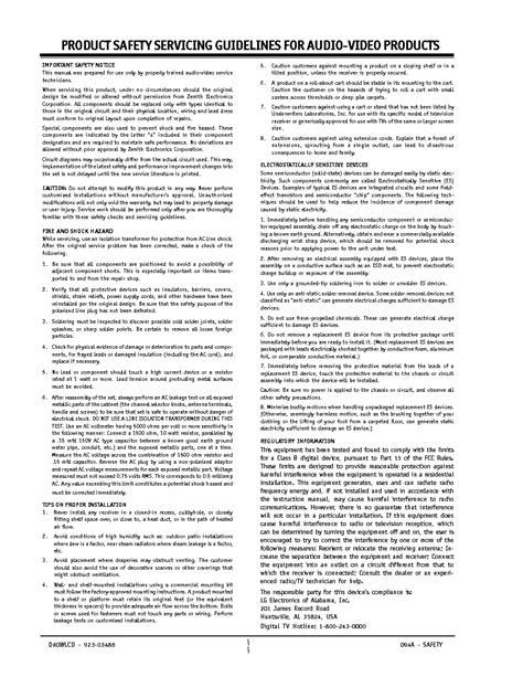 Zenith D60wlcd Manual (ePUB/PDF) Free