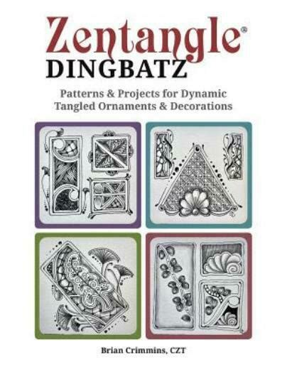 Zentangle Dingbats Patterns Projects For Tangled Ornaments And Decorations