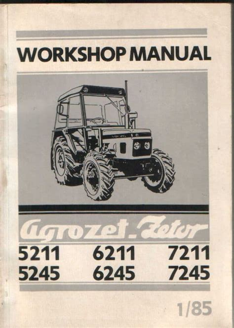 Zetor Online Manual (ePUB/PDF) Free