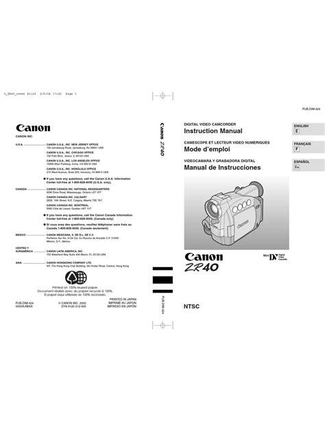 Zr40 Manual (ePUB/PDF) Free
