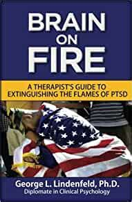 Brain On Fire A Therapists Guide To Extinguishing The Flames Of PTSD Black And White Edition Post Traumatic Stress Disorder Volume 2
