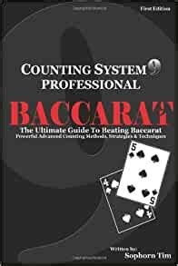 Counting System 9 Professional Baccarat