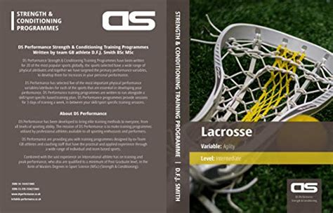 Ds Performance Strength Conditioning Training Program For Lacrosse Strength Intermediate English Edition