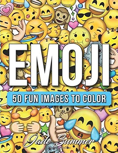 Emoji An Emoji Coloring Book For Kids With 50 Funny Cute And Easy Coloring Pages