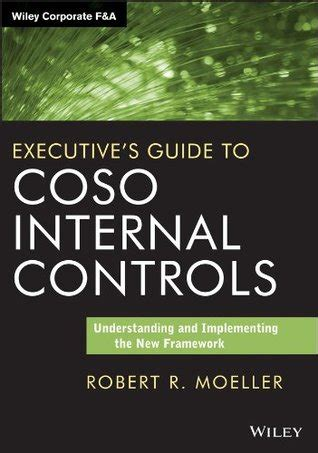 Executives Guide To Coso Internal Controls Understanding And Implementing The New Framework