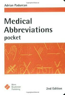 Medical Abbreviations Pocket Pc