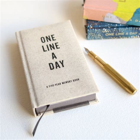 One Line A Day Baby Book A Five Year Journal Blue