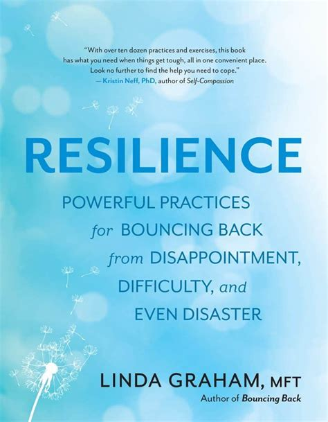 Resilience Powerful Practices For Bouncing Back From Disappointment Difficulty And Even Disaster