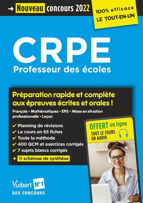 Concours Professeur des écoles (CRPE - Mathématiques