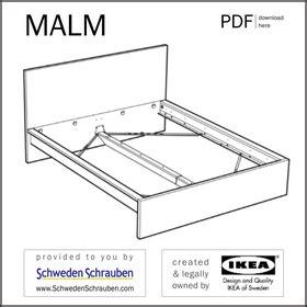Ikea Malm Bett 140x200 Anleitung