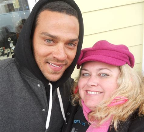 Photo of Jesse Williams  & his  Mother   Johanna Chase