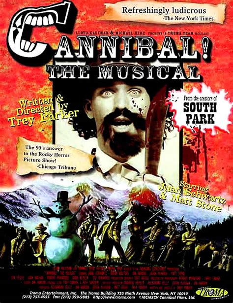 latest Cannibal! The Musical