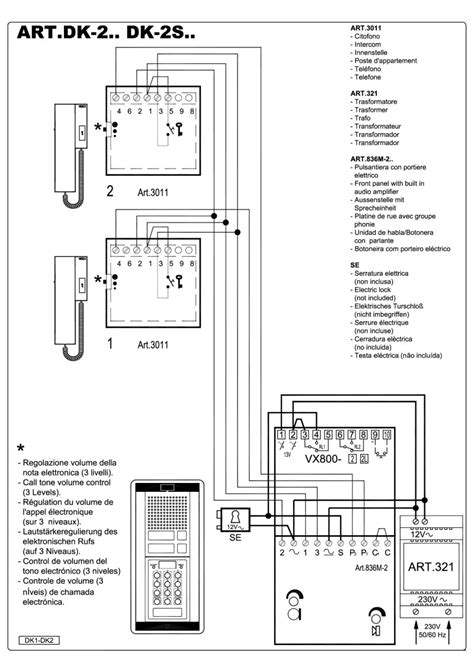 Manuals - Videx Security - Videx Kit Wiring Diagrams Access ... on